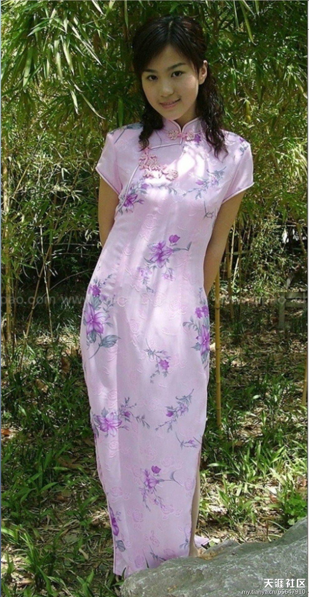 旗袍美女 少妇