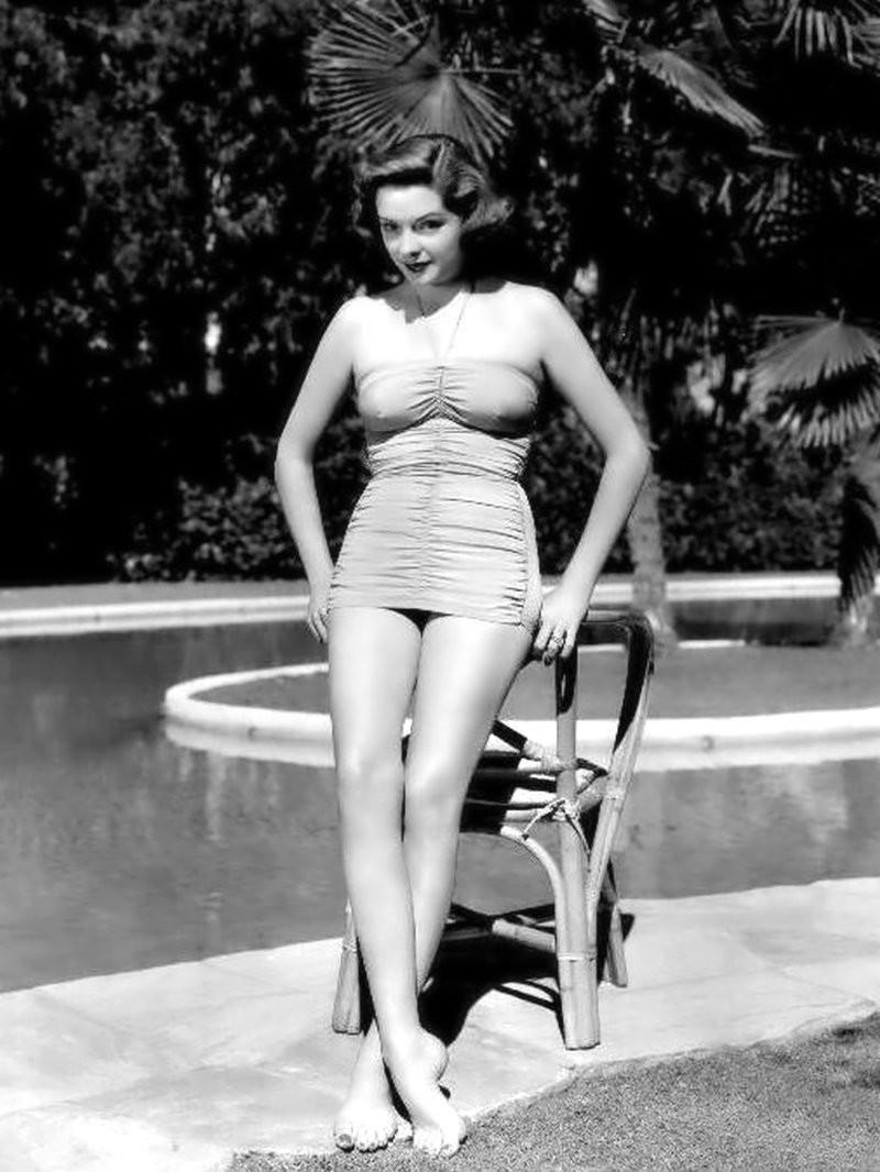 美国好莱坞40 50年代美女红星简・格里尔