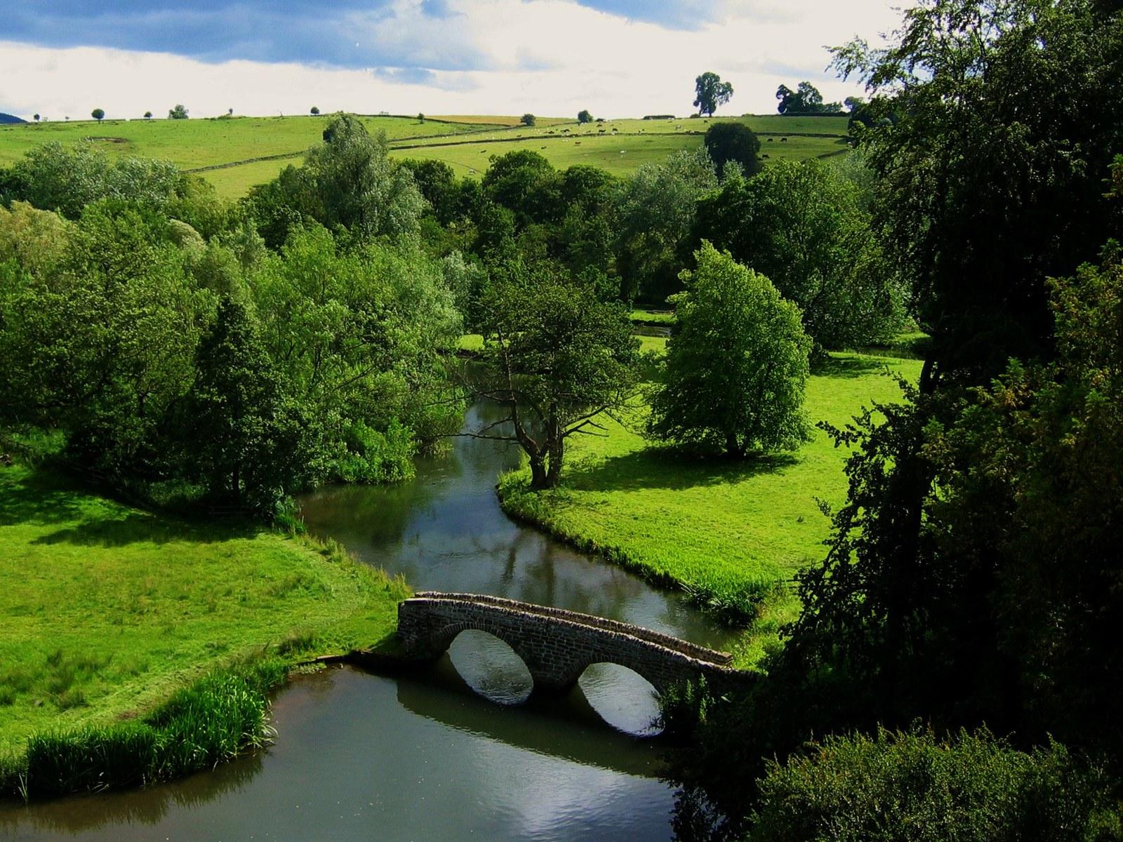 河流 和 桥 自然 1600 1200 最 美 河流 壁纸 最 美 河流