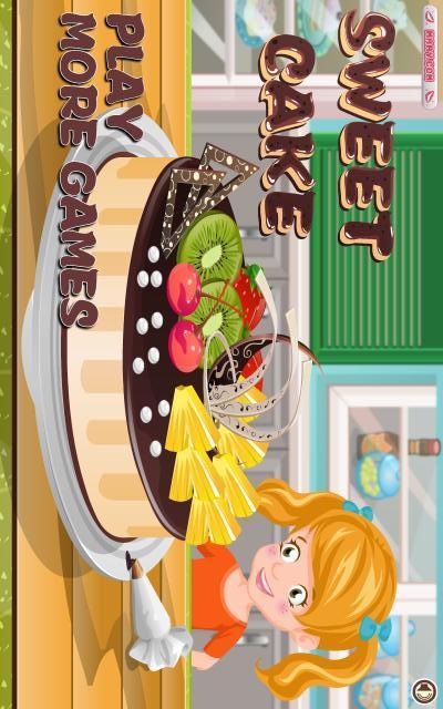 甜蜜的蛋糕 - 烹饪游戏
