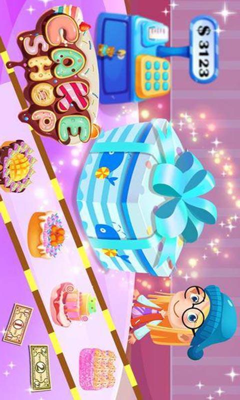 蛋糕制作商店-应用截图