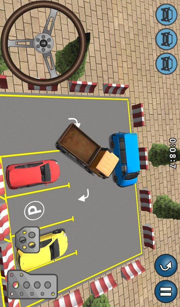 挑战停车场