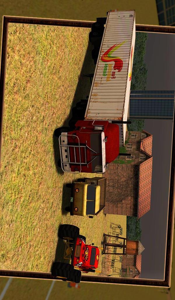 卡车停车场3D