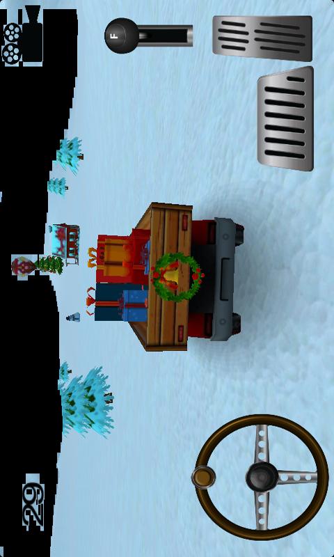【免費賽車遊戲App】圣诞老人-APP點子