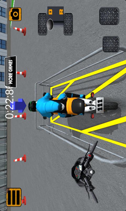 3D摩托模拟驾驶器-应用截图