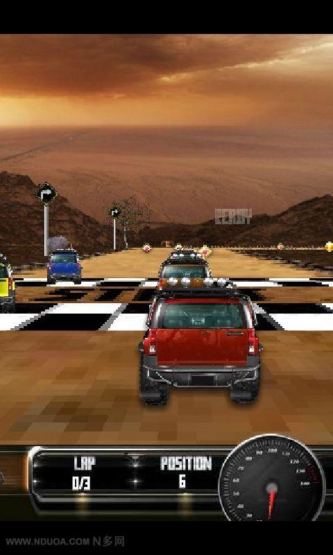 4D悍马赛车 賽車遊戲 App-愛順發玩APP