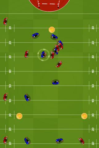 橄榄球游戏