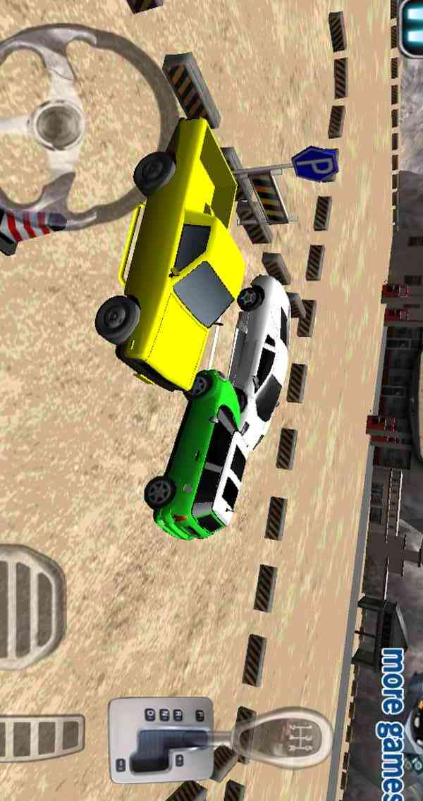 3D车辆停车
