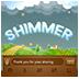 GO SMS Theme Shimmer