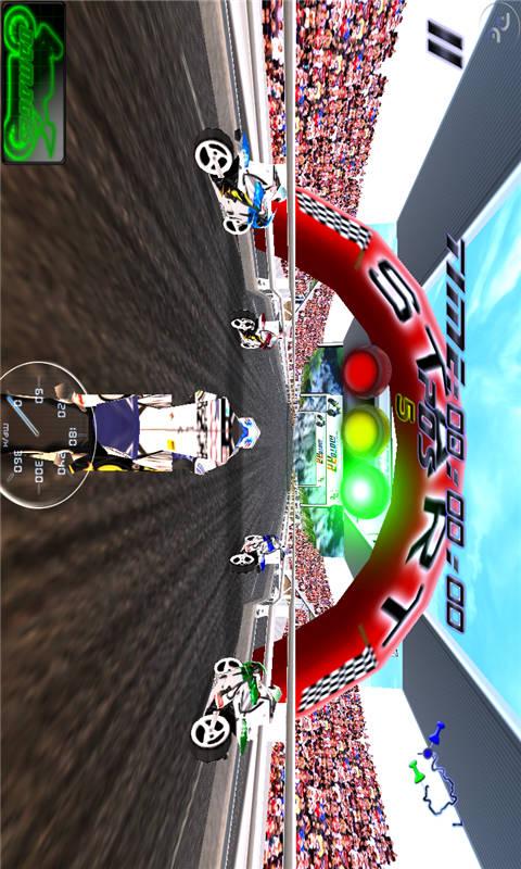 3D终极摩托赛