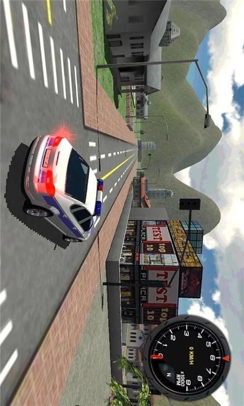 玩賽車遊戲App|警车司机3D Police Car Driver 3D免費|APP試玩
