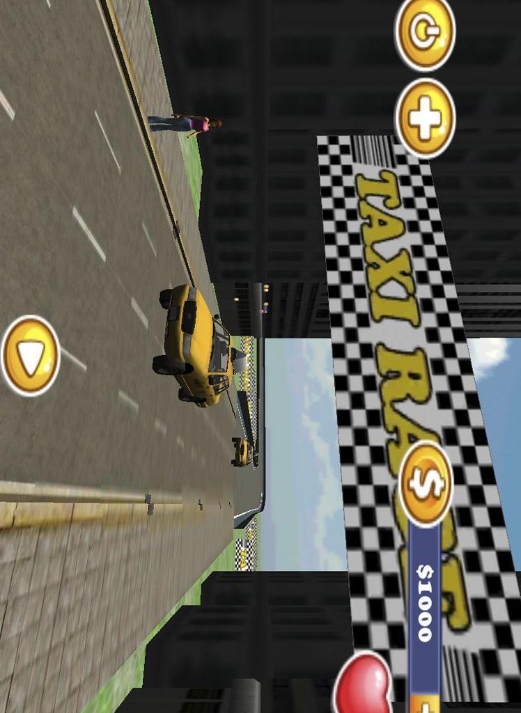 出租车赛车3D出租车司机-应用截图