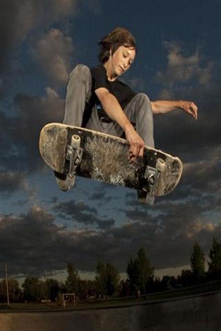 滑板极限运动 skateboard extreme sport