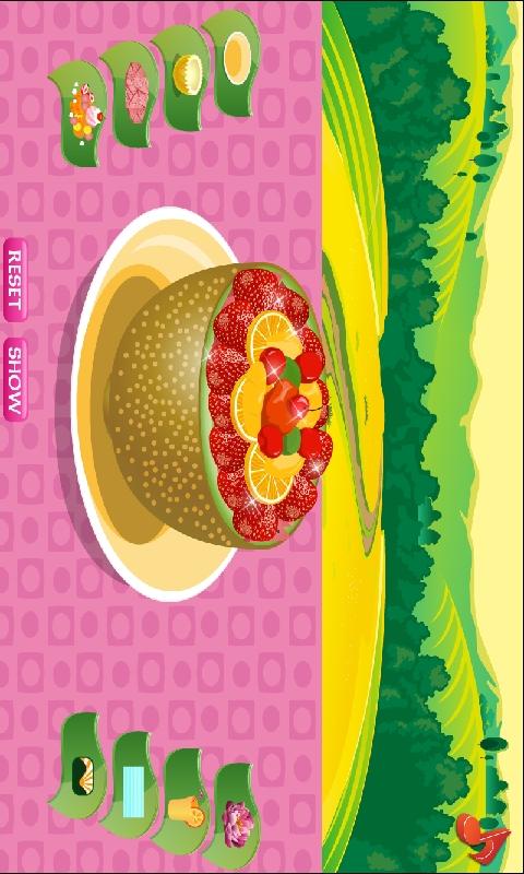 制作水果沙拉