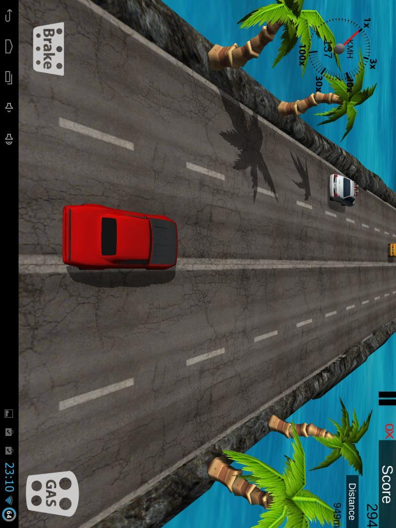3D赛车交通