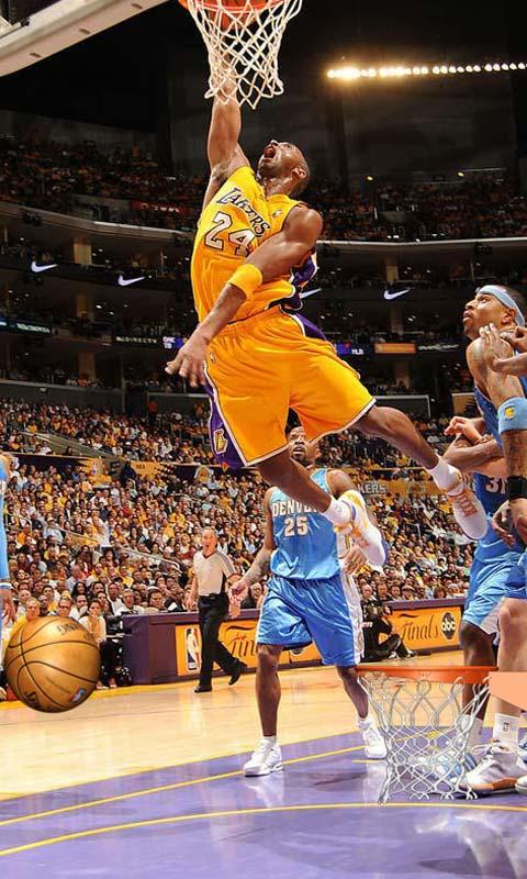 激情科比NBA球星锁屏壁纸