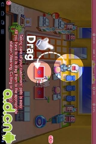 开心宠物美容店(高清版)|玩遊戲App免費|玩APPs
