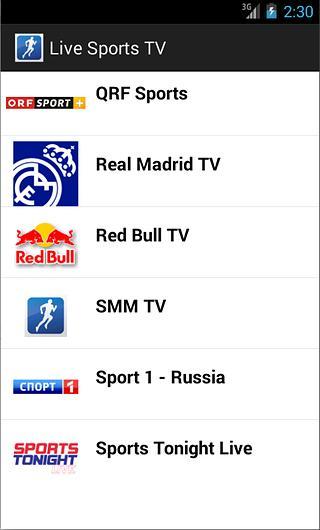 免費下載媒體與影片APP|Live Sports TV app開箱文|APP開箱王