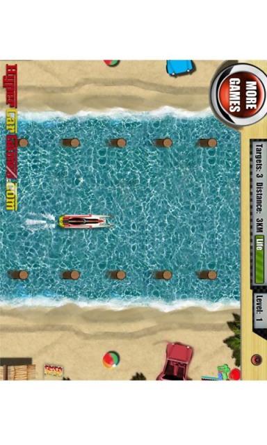 【免費賽車遊戲App】汽艇追击大赛-APP點子