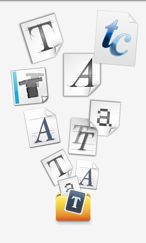 字体大师-应用截图