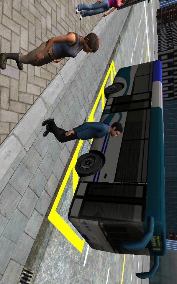 3D城市驾驶 巴士停车场