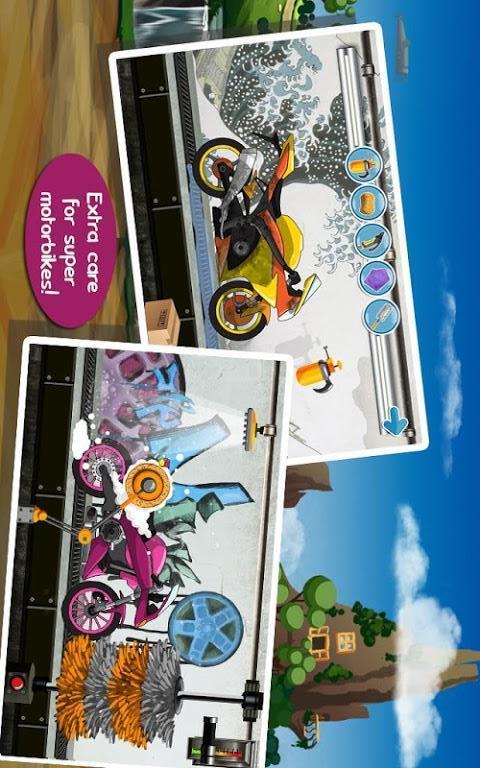 玩賽車遊戲App|清洗摩托车免費|APP試玩
