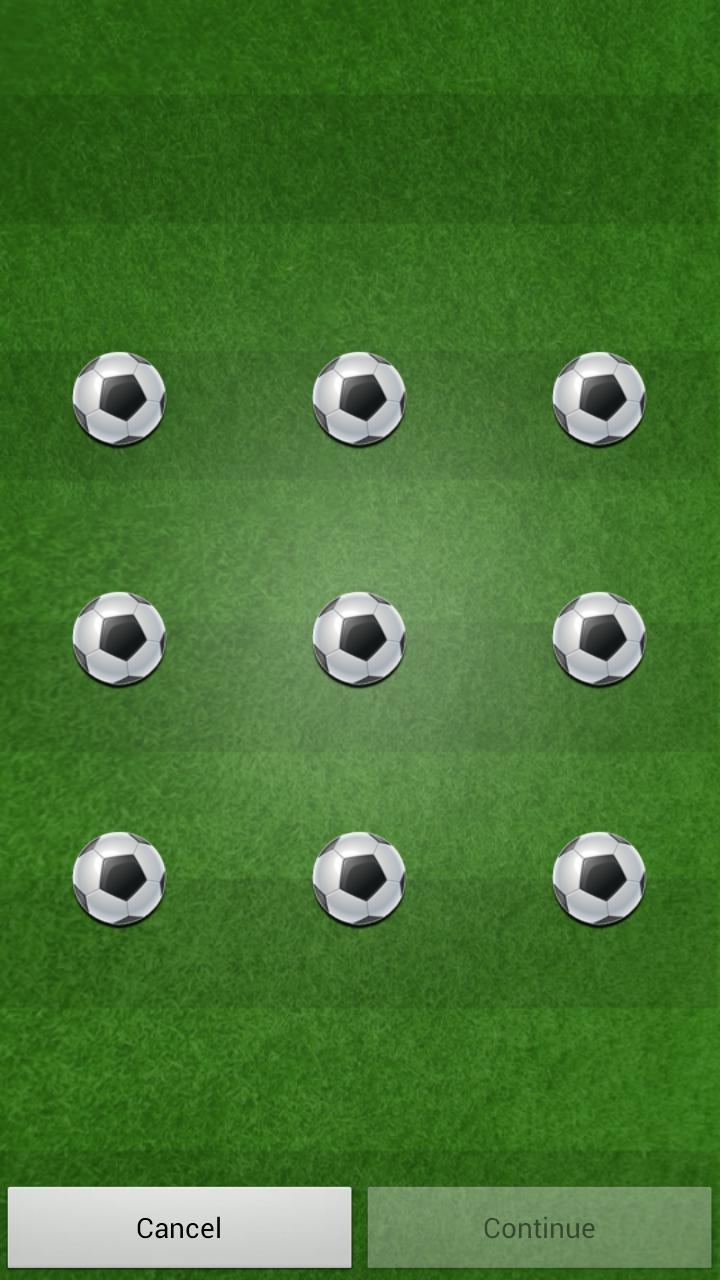 足球图案锁屏|玩體育競技App免費|玩APPs
