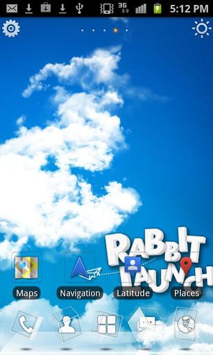 兔子3D动态桌面主题