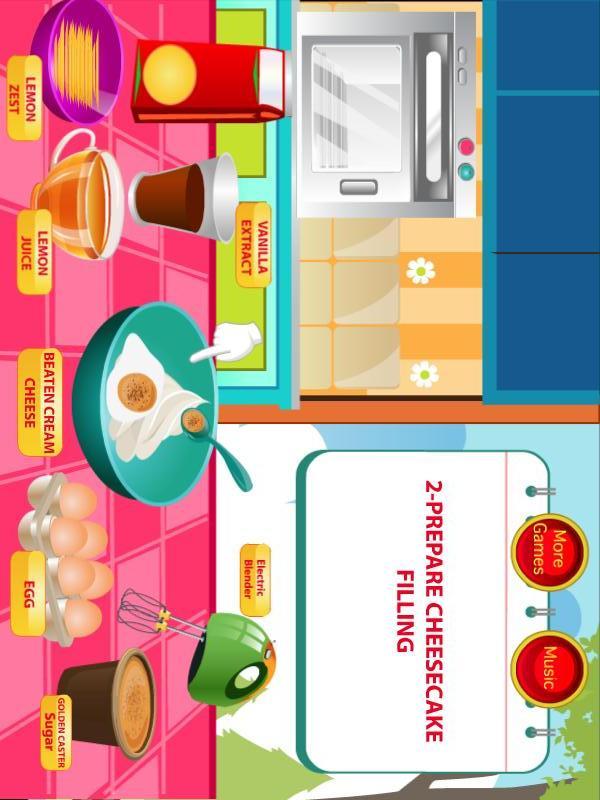 玩遊戲App|草莓芝士蛋糕烹饪免費|APP試玩