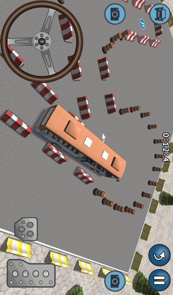 巴士停车挑战