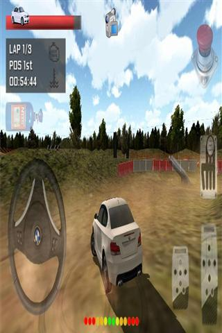 3D赛车模拟器-应用截图