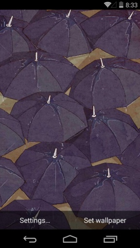 扑克兔之下雨天-梦象动态壁纸 個人化 App-癮科技App