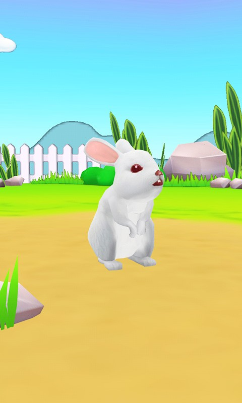 Rabbit3D Wallpaper-应用截图