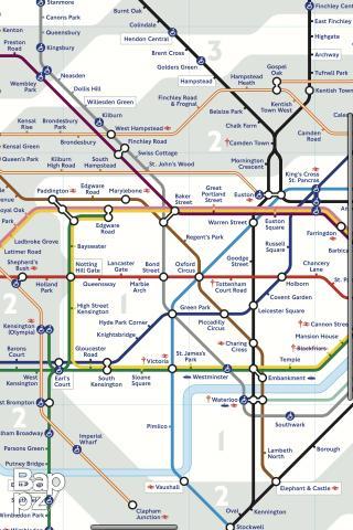 【免費體育競技App】London Tube Map-APP點子