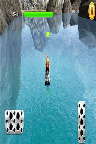 3D喷气滑雪公园