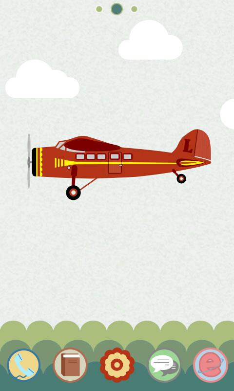 一只飞机的故事 GOLauncher EX Theme|玩工具App免費|玩APPs