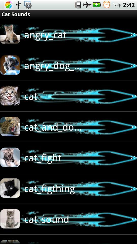 猫的声音闹钟铃声-应用截图