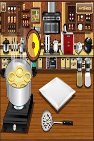 烹饪脆洋葱圈 棋類遊戲 App-癮科技App